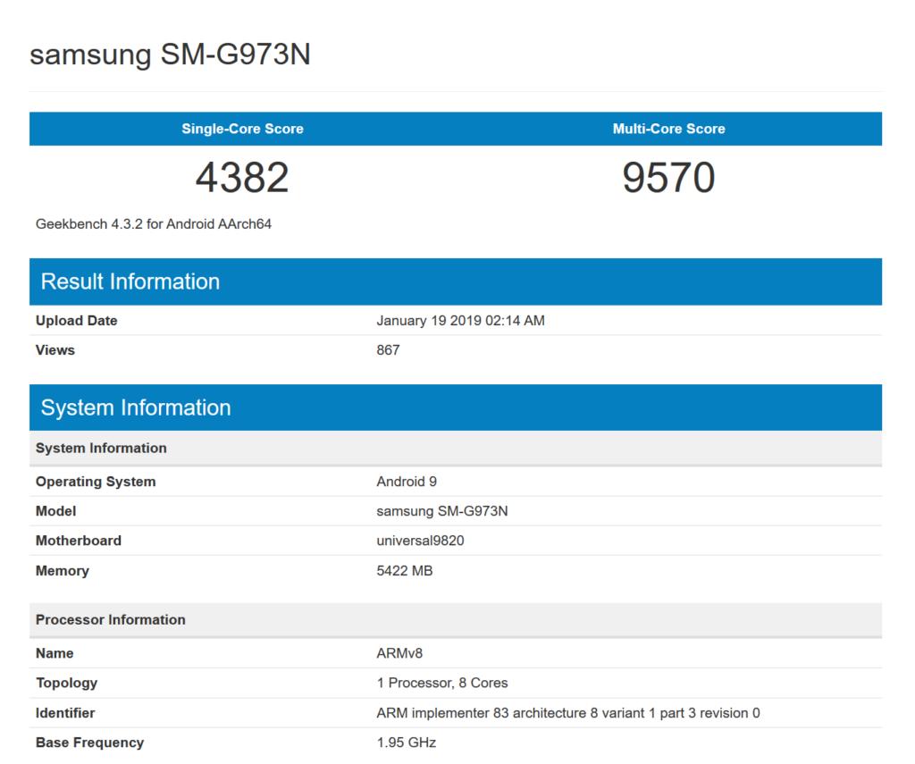 Huge Samsung Galaxy S10 leak reveals three different models